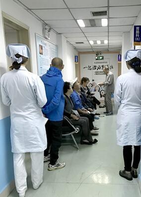 武汉博仕医院胃肠科候诊科室环境